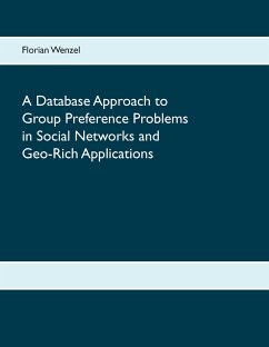 A Database Approach to Group Preference Problems in Social Networks and Geo-Rich Applications