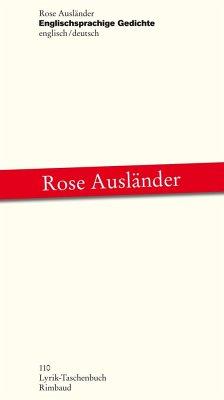 Englischsprachige Gedichte - Ausländer, Rose