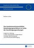 Das immissionsschutzrechtliche Genehmigungsverfahren im Lichte der Genehmigungswirkungen