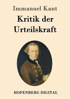 Kritik der Urteilskraft (eBook, ePUB) - Immanuel Kant