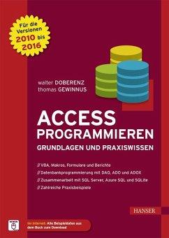 Access programmieren (eBook, PDF)