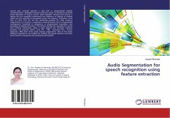Audio Segmentation for speech recognition using feature extraction
