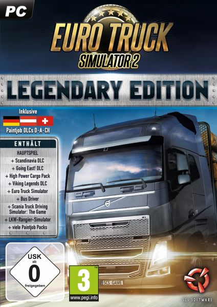 euro truck simulator 2 legendary edition pc spiel. Black Bedroom Furniture Sets. Home Design Ideas