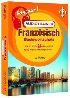Audiotrainer Basiswortschatz Französisch, 3 Audio-CD - ademo GmbH