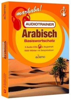 Audiotrainer Arabisch Basiswortschatz, 3 Audio-CDs + Begleitheft