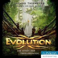 Die Stadt der Überlebenden / Evolution Bd.1 (MP3-CD) - Thiemeyer, Thomas