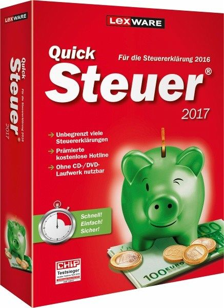QuickSteuer 2017 (CD-ROM)