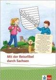 Bücherwurm Sachheft. 4. Schuljahr. Reisefibel (5er-Pack). Sachsen