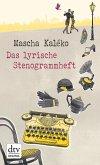 Das lyrische Stenogrammheft (eBook, ePUB)