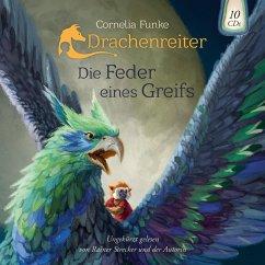 Die Feder eines Greifs / Drachenreiter Bd.2 (Audio-CD) - Funke, Cornelia