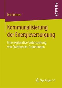 Kommunalisierung der Energieversorgung - Lormes, Ivo