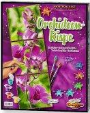 Schipper 609470739 - Orchideenrispe Tripyichon, Malen nach Zahlen