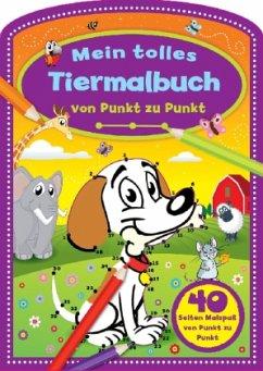 Mein tolles Tiermalbuch