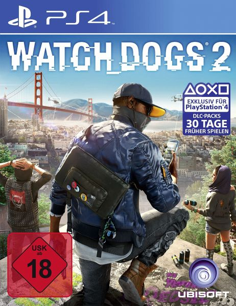 watch dogs 2 ps4 games versandkostenfrei bei b. Black Bedroom Furniture Sets. Home Design Ideas