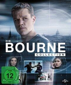 Vorschaubild von Die Bourne Collection Bluray Box