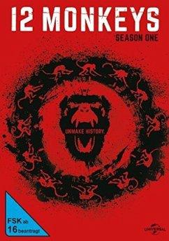 12 Monkeys - Staffel 1 DVD-Box - Aaron Stanford,Amanda Schull,Barbara Sukowa