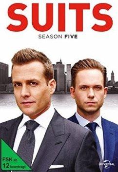 Suits - Staffel 5 DVD-Box - Gabriel Macht,Sarah Rafferty,Rick Hoffman