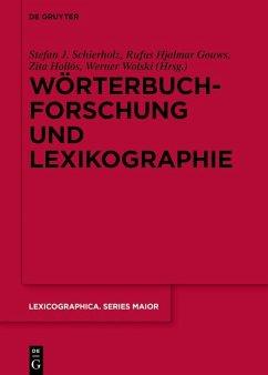 Wörterbuchforschung und Lexikographie (eBook, ePUB)