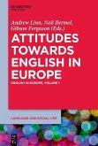 Attitudes towards English in Europe (eBook, ePUB)
