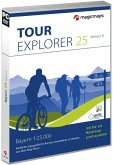 TOUR Explorer 25 Bayern, Version 8.0, DVD-ROMs