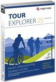 TOUR Explorer 25 Hessen / Rheinland-Pfalz / Saarland, Version 8.0, DVD-ROMS