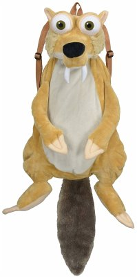 United Labels - Ice Age 5 Scrat 3D Rucksack 60 cm