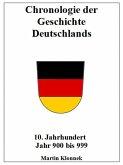 Chronologie Deutschlands 10 (eBook, ePUB)