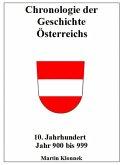 Chronologie Österreichs 10 (eBook, ePUB)