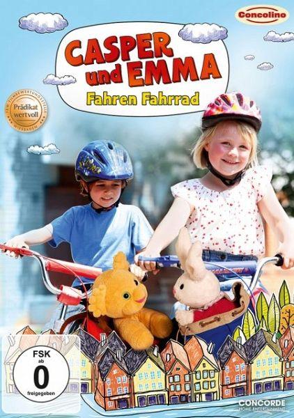 casper und emma fahren fahrrad auf dvd portofrei bei b. Black Bedroom Furniture Sets. Home Design Ideas