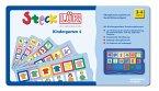 SteckLÜK. Kindergarten 4: Alter 3 - 4 (blau)