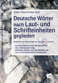 Deutsche Wörter nach Laut- und Schrifteinheiten gegliedert