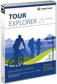 TOUR Explorer 25 Deutschland Gesamt, Version 8.0, DVD-ROMs