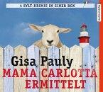 Mamma Carlotta ermittelt. Die ersten vier Fälle / Mamma Carlotta Bd.1-4 (22 Audio-CDs)
