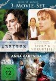 Keira Knightley - 3-Movie-Set DVD-Box