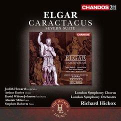 Caractacus Op.35/Severn Suite Op.87 - Howarth/Davies/Miles/Hickox/Lso & Chorus