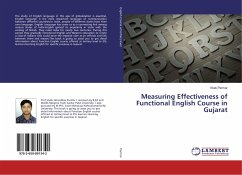 Measuring Effectiveness of Functional English Course in Gujarat