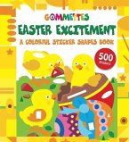 Easter Excitement: A Colorful Sticker Shapes Book