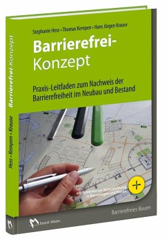 Barrierefrei-Konzept - Hess, Stephanie; Kempen, Thomas; Krause, Hans-Jürgen