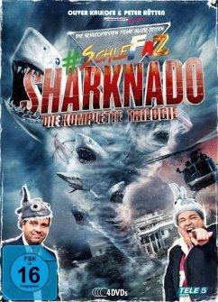 #SchleFaZ - Sharknado - Die komplette Trilogie DVD-Box - Kalkofe,Oliver/Rütten,P./Ziering,I./Reid