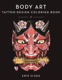 Body Art: A Tattoo Design Coloring Book