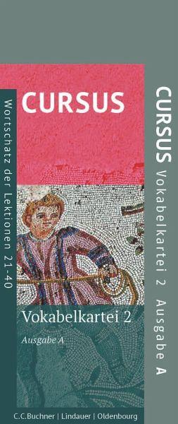 Cursus - Ausgabe A. Vokabelkartei 2
