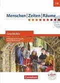 Menschen Zeiten Räume Band 2: 7./8. Schuljahr - Geschichte Differenzierende Ausgabe Baden-Württemberg - Schülerbuch
