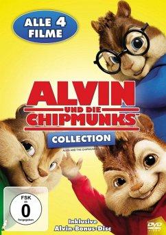 Alvin und die Chipmunks Collection 1-4 DVD-Box