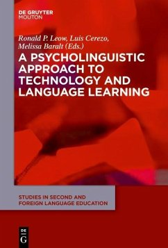 A Psycholinguistic Approach to Technology and Language Learning (eBook, PDF)