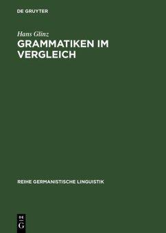 Grammatiken im Vergleich (eBook, PDF) - Glinz, Hans