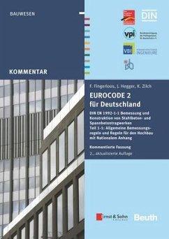 Eurocode 2 für Deutschland. Kommentierte Fassung - Eurocode 2 für Deutschland + E-Book