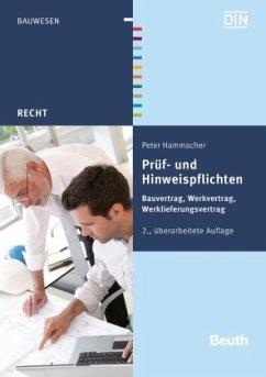 Prüf- und Hinweispflichten - Hammacher, Peter