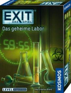 Exit - Das Spiel, Das geheime Labor (Kennerspiel des Jahres 2017)