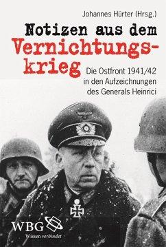Notizen aus dem Vernichtungskrieg (eBook, ePUB)