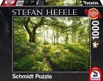 Schmidt 59382 - Stefan Hefele, Der verwunschene Pfad, Puzzle, 1000 Teile